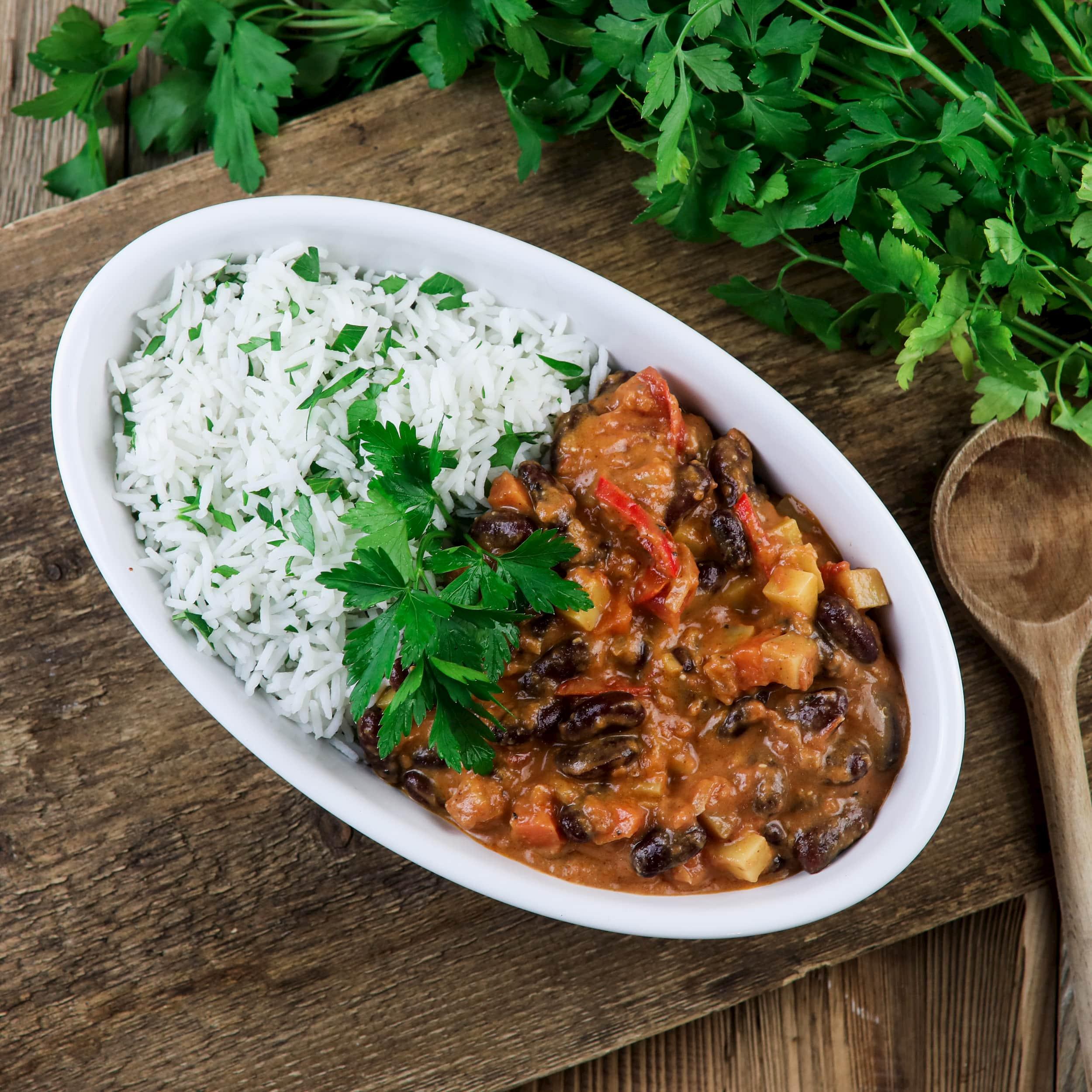 Leckerer Kidneybohnen-Stew